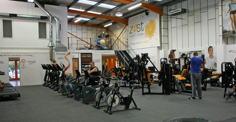 Zest Gym, Sudbury, Suffolk